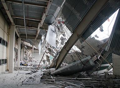 建物への損害による利益減少に備える保険